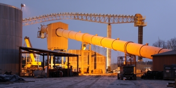 The ReEnergy Black River biomass power plant supplies renewable energy to Fort Drum in New York state.