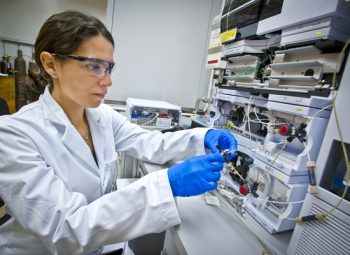 Rebecca Abergel, Ph.D. is a Staff Scientist in the Chemical Sciences Division at Lawrence Berkeley National Laboratory.