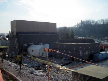 Crews at Building 3026 are nearly finished sealing a hot cell and completing other cleanup work.