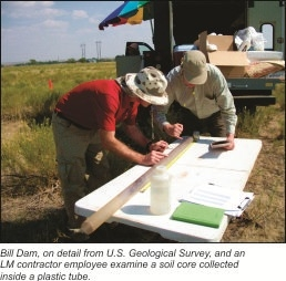 LM Conducts Groundwater and Soil Investigation at Riverton, Wyoming, in Response to 2010 Flood