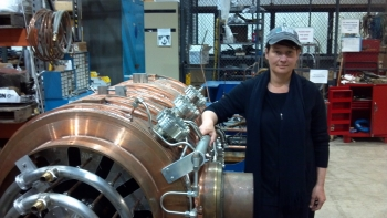 Dr. Robyn Madrak Plant is an Associate Scientist at Fermilab, working at the Accelerator Physics Center on the accelerator RF upgrades for the NOVA experiment.