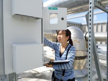 Sandra Chow, Senior Mechanical Engineer for BASE Energy, named one of five Distinguished IAC Alumni.   Photo courtesy of Sandra Chow