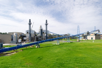 Spanning 34 acres, the Savannah River Site Biomass Cogeneration Facility is the culmination of 30 months and more than 600,000 hours of labor.