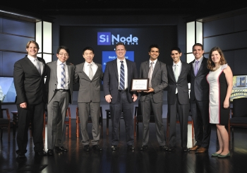 Earlier this week, the Energy Department hosted the second annual National Clean Energy Business Plan Competition. From Northwestern University, SiNode Systems took home the top honors   Photo courtesy of Ken Shipp, Department of Energy.