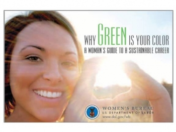 Why Green is Your Color: A Woman's Guide to a Sustainable Career