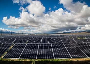 Cloudy skies curb solar production, but new technologies can help.   <em>Photo credit: Tristan Twisselman/BHE Renewables</em>