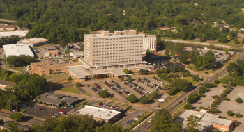 Thanks to funding from the Recovery Act, the University of South Alabama Medical Center is saving energy while providing better care to its patients.   Photo courtesy of the University of South Alabama Medical Center.
