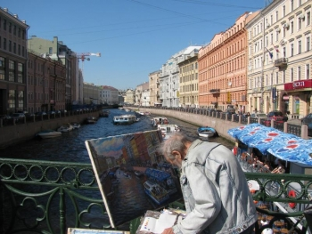 Scenic picture of St. Petersburg, Russia. | Courtesy of Dan Leistikow