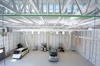 SolidEnergy works to develop materials that can increase the amount of energy that lithium-ion batteries store by 30 percent or more and lower costs enough to make electric vehicles affordable.   Photo courtesy of NREL.