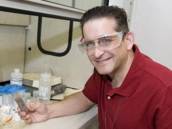 Chemical Engineer Steven Sherman | Photo Courtesy of SRNL