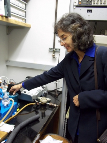 Sunita Satyapal is the Director of the Department of Energy's Fuel Cell Technologies Office within the Office of Energy Efficiency and Renewable Energy.