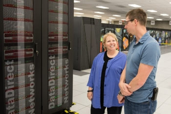 Susan Coghlan is the deputy division director for the Argonne Leadership Computing Facility (ALCF) and the project director for the facility's powerful supercomputing systems including Mira, the fifth fastest supercomputer in the world.