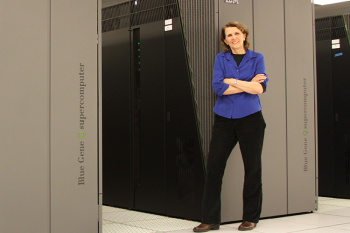 Teresa 'Terri' Quinn is responsible for an organization consisting of three divisions with over 400 technical staff working in high-performance computing, computer security, and IT at the Lawrence Livermore National Laboratory.