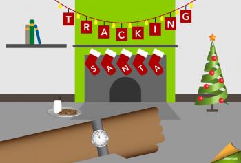 "Thanks to the Los Alamos National Laboratory, you can <a href=""http://www.santa.lanl.gov/""> follow along live</a> as Santa circles the globe this Christmas Eve. | Image credit: Hantz Leger."