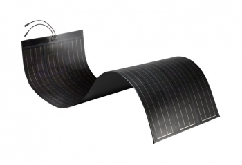 An image of SoloPower's flexible PV module.   Photo Courtesy of SoloPower