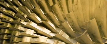 An innovative airfoil manufacturing technology that promises to improve the performance of state-of-the-art gas turbines has been commercialized through research sponsored by the U.S. Department of Energy. Photo courtesy of Mikro Systems, Inc.