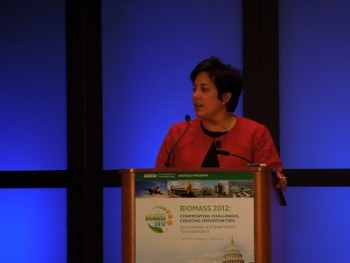 Dr. Valerie Reed is the Acting Biomass Program Manager at the Department of Energy's Office of Energy Efficiency and Renewable Energy.