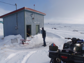 Energy Department financial support for Alaska is helping remote facilities like the Toksook Bay Well House to identify critical savings opportunities with energy monitoring software. Toksook Bay has a population of about 600.