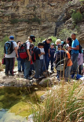 Proceeds from the WIPP salt allowed hundreds of southeast New Mexico students to learn about resource conservation.