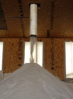 The crushed salt is used as a supplement in cattle feed. Since the salt from WIPP has been mined from the middle of a large salt formation, its quality is high, according to Magnum Minerals.