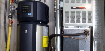 Purchasing a water heater with the ENERGY STAR® label ensures you are buying an energy efficient appliance designed to save consumers money. | Photo courtesy of Dennis Schroeder, National Renewable Energy Labs