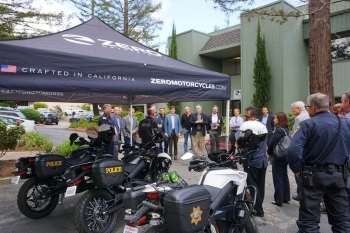 Zero Motorcycle in Scotts Valley, California, manufactures electric motorcycles, and offers a fleet program for police, security and military customers.