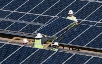 Mesquite Solar in Arizona created nearly 530 jobs during peak construction. | Photo courtesy of Sempra.