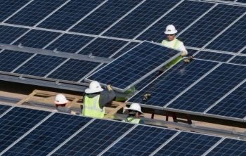 Mesquite Solar in Arizona created nearly 530 jobs during peak construction. | Photo courtesy of Sempra.