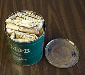 The time capsule and its contents will be brought before a DOE Hanford artifact committee that determines what to do with historic Hanford items.