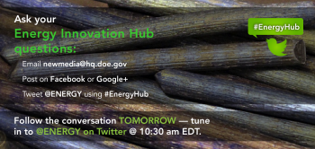 Ask Your Energy Innovation Hub Questions
