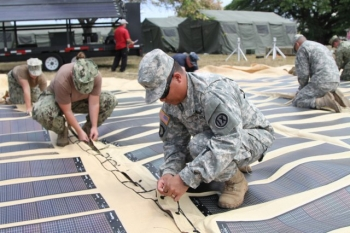 For veterans and active-duty military interested in a career in the energy sector, there's a new online course that helps service members develop the skills necessary to solve our nation's energy problems. | Photo courtesy of the U.S. Army.