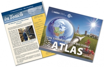 NETL's Carbon Storage Atlas IV and FE's internal employee newsletter, inTouch, earned 2013 National Association of Government Communicators awards.