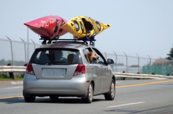 Simple tips like removing extra cargo when not needed can help you save big on your summer travel plans.  Photo Courtesy of Fueleconomy.gov