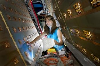 Christine Aidala, Nuclear Physicist, Los Alamos, National Laboratory.  | Department of Energy Photo | Courtesy of Los Alamos National  Laboratory |