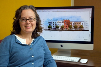 Cindy Regnier, low-energy building designer