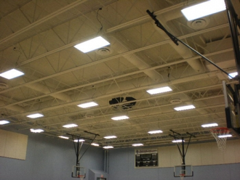 By replacing T-12 lights with more efficient T-8 units, Texas City will save 65.5 kW each year. | Courtesy of the City of Texas City, Texas