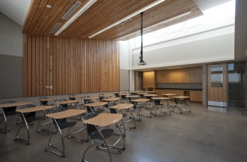 A school classroom in Greensburg, Kansas. Educators from schools across the country will meet on January 26 in Washington, D.C., for the National Energy Education Summit.   Photo courtesy of McCownGordon Construction