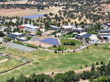 Butte College's solar panels are helping it make more energy than it uses, providing it financial as well environmental benefits. | Photo courtesy of Butte College |