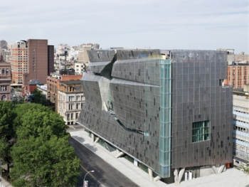 Cooper Union's building is a towering, unique building that actually saves a lot of energy. | Photo courtesy Cooper Union