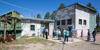 National Park Service staff responsible for initiating the Manhattan Project National Historical Park tour legacy sites at Los Alamos National Laboratory.