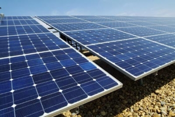 DuPont is betting on major growth in the market for solar energy -- and therefore for its Tedlar film, a durable backing for silicon solar panels. | Photo Courtesy of DuPont