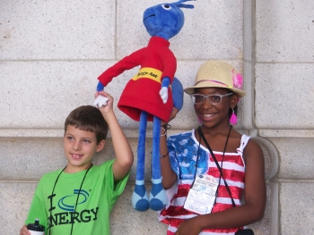More than 750 students and teachers (and Energy Ant!) visited Washington D.C. for the 32nd Annual NEED Youth Awards for Energy Achievement to receive awards for outstanding energy education efforts in their local communities. | Photo courtesy National Energy Education Development Project