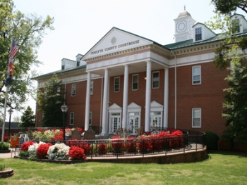 A new energy management system in Forsyth County's 52,057 square foot courthouse is expected to save about $9,000 annually. | Photo courtesy of Forsyth County