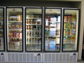 If accepted, a new energy efficiency rule on walk-in coolers and freezers proposed by the Energy Department could cut energy bills by up to $24 billion over 30 years. | Photo by Lynn Billman, NREL.