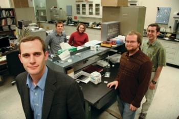 Cody Friesen and his team at Arizona State University | Photo Credit Arizona State University