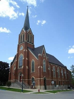 First Lutheran Church is one of three entities in Decorah, Iowa using EECBG funds. The church, one of the largest and oldest in the community, will use the funds to change out an old steam boiler system. | Photo Courtesy of First Lutheran Church