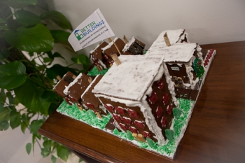 A Gingerbread Village That's Sweet In More Ways Than One