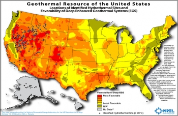 Geothermal energy, traditionally a baseload power source among renewables, is poised to emerge also as a flexible power source, balancing intermittent wind and solar power production and reducing variability in energy prices. Source: NREL