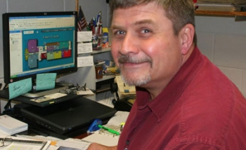 Glenn Sims, director of Facility Services at Richmond Community College   Photo courtesy of Richmond Community College