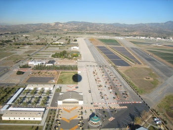 An aerial shot of Orange County Great Park, site of the 2013 Solar Decathlon.